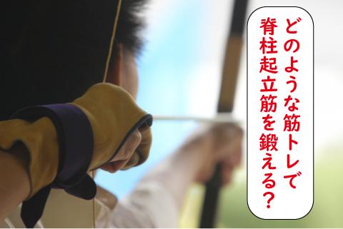 弓道の筋トレ