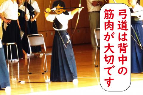 弓道は背中の筋肉が大切?姿勢を保つために必要な理由とは