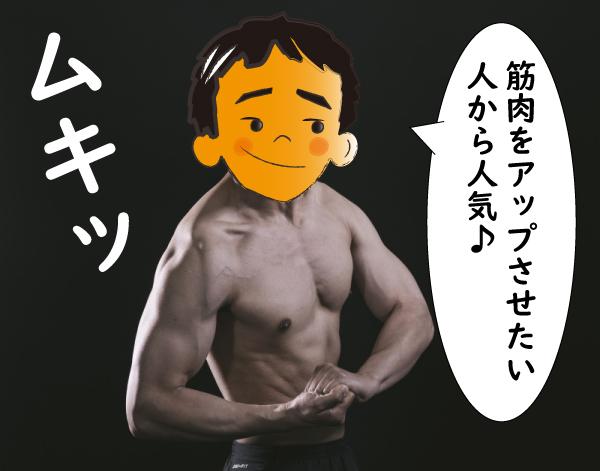 アナドリンで筋肉増大
